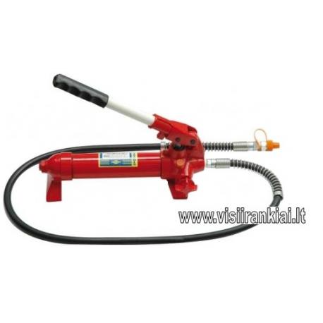 Pneumatinė hidraulinė pompa 10 t (keičiasi rankenos padėtis)