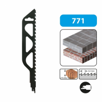Geležtė plytelėms, betonui 455mm