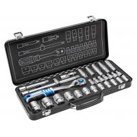 Įrankių komplektas 1/2 metalinėje dėžėje, 29dalių HOEGERT HT1R480
