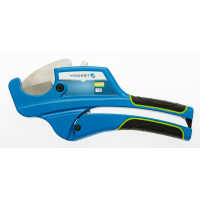 Plastic pipe and tubing cutter, max 42 mm