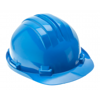 Safety helmet, blau
