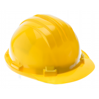 Safety helmet, gelb