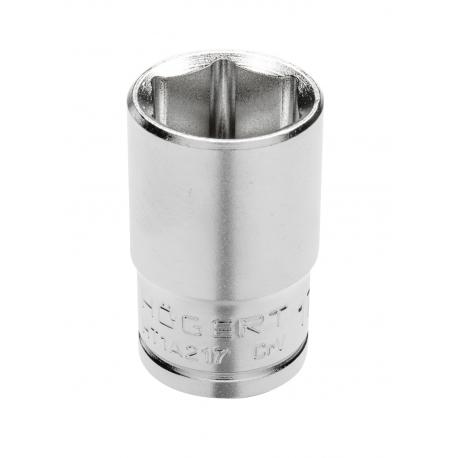 "Socket 1/2"", hexagon metric, CrV steel, 36 mm DIN 3124"