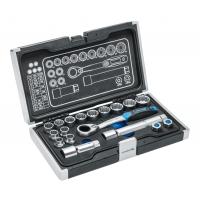 HOGERT kiauryminių galvų įrankių komplektas 10-24mm