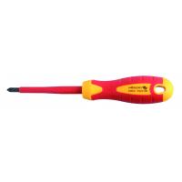 Insulated screwdriver PZ2 100 mm, 1000 V, S2 steel