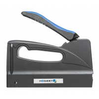 """Staple gun type """"J"""", for 6-16 mm staples as well as 15 mm nails"""