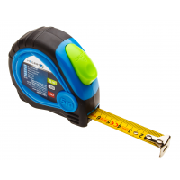 Tape measure 5 m x 19 mm, MID certified, teflon-coated blade