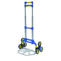 Sulankstomas vežimėlis su 6 ratais (iki 70kg)
