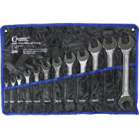 Plokščių raktų komplektas atvirais galais (6-32 mm)