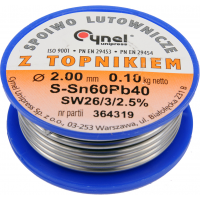 Lydmetalio viela Ø2,0mm / 100g.
