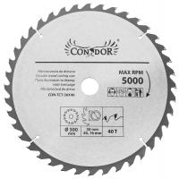 Medžio pjovimo diskas 300*40T