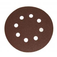 Šlifavimo popierius 125 mm P240, su skylėm