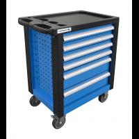 Įrankių vežimėlis 6 stalčių / be įrankių