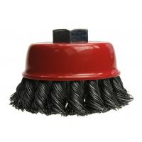 Šepetys plieninis kūginis kampiniam šlifuokliui 100 mm