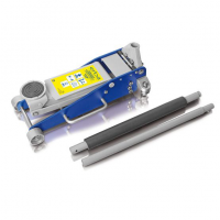 Aliuminis domkratas pažemintas 2,5T PROFI / 100-460mm