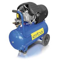 Oro kompresorius 2 cilindrų 50L, 400L/min 230V