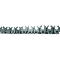šoninių raktų kompl. 3/8 10 vnt. (10-19mm)