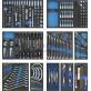 Įrankių vežimėlis su 294 įrankiais / 8 stalčių