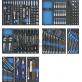 Įrankių vežimėlis su 265 įrankiais / 8 stalčių