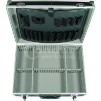 Aliuminis lagaminas įrankiams / 460x340x150 mm