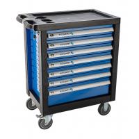 Įrankių vežimėlis 7 stalčių / be įrankių