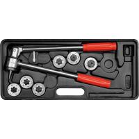 Vamzdelių formavimo, plėtimo įrankių rinkinys