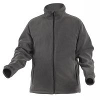 Darbinis džemperis šiltas flizinis su užtrauktuku M (50) dydis