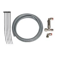 Pneumatic hose kit for pump 23705, without blow gun
