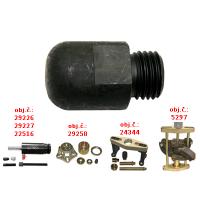 Punching socket M22x2,5 external threads