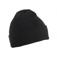 Kepurė megzta universalaus dydžio juoda