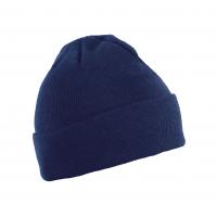 Kepurė megzta universalaus dydžio, mėlyna