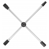 Raktas ratams kryžminis, sudedamas su dėklu 17*19*21mm + 1/2 HOEGERT HT8G311