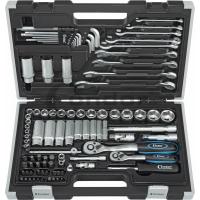 Įrankių komplektas 1/4'' ir 3/8'' 4-24 mm, 92 vnt.