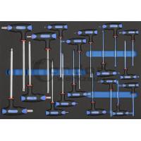 T-formos HEX+TORX raktų komplektas / su dėklu vežimėliui