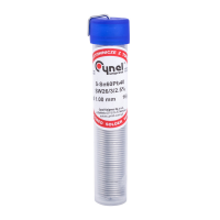 Lydmetalis su fliusu 1mm. 15 gr.