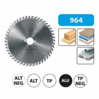 Pjovimo diskas staklėms / 190x30mm / 48dantų