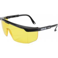 Apsauginiai akiniai geltoni / EN166