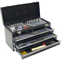Įrankių dėžė su stalčiais 1/4+1/2 / 101dalies
