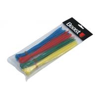 Tvirtinimo dirželiai 200*2,5mm spalvoti