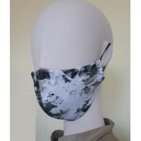 Daugkartinio naudojimo medvilninė, apsauginė veido kaukė DVIPUSĖ