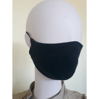 Daugkartinio naudojimo veido kaukė / tamsi