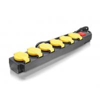 Prailgintuvas elektrai su jungikliu IP44 6-ių lizdų / 1,5m