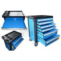 Įrankių vežimėlis 6 stalčių / be įrankių HOGERT HT7G046