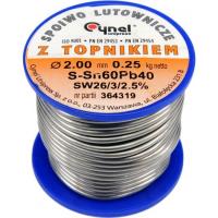 Lydmetalio viela Ø2,0mm / 250g.
