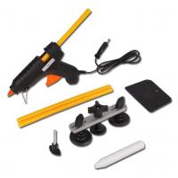 Įrankiai kėbulo įlenkimų lyginimui be dažymo