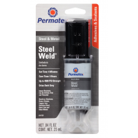 Klijai metalui dviejų komponentų / Permatex