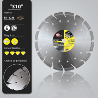 Diskas deimantinis asfaltui, 300*20*10