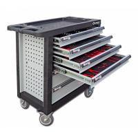 Įrankių vežimėlis 6 stalčių su 236 įrankiais / GRUBBER WN236