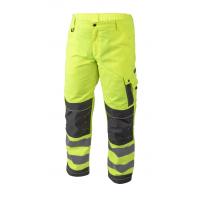 Atšvaitinės darbinės kelnės, geltonos XL