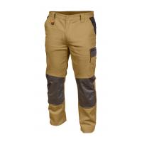 Darbinės kelnės, smėlio spalvos, dydis XL SLIM
